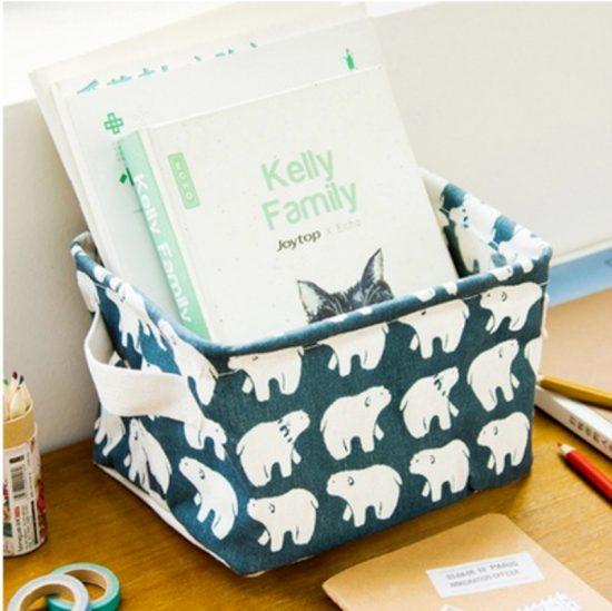 Caja de almacenaje osos polares