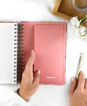 portadocumentos agenda 2020 diseño rosa