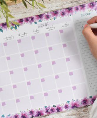 calendario planificador perpetuo