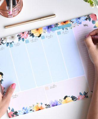 calendario semanal planificacion