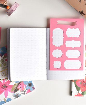 bullet journal plantillas