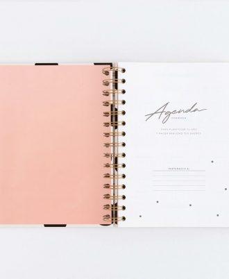 pagina datos personales agenda diseño