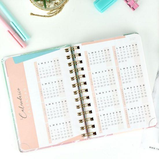 Agenda2021 Semana Vista A6 Vicky